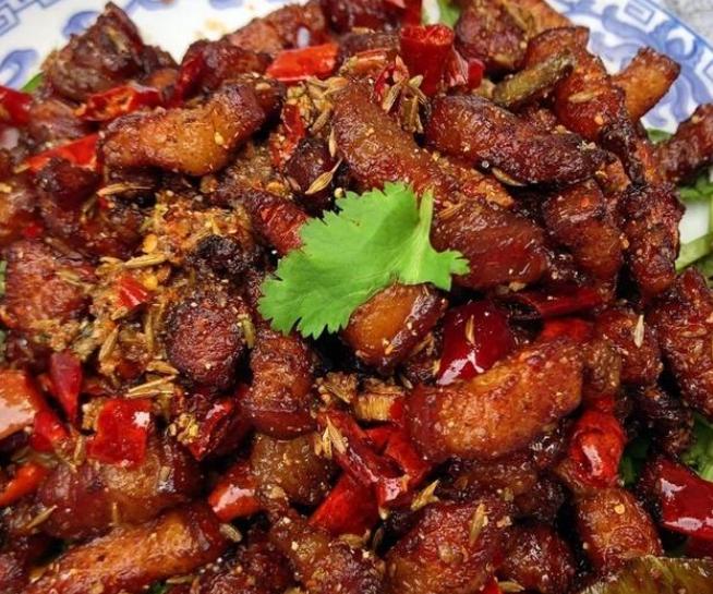 孜然香酥肉的简单做法