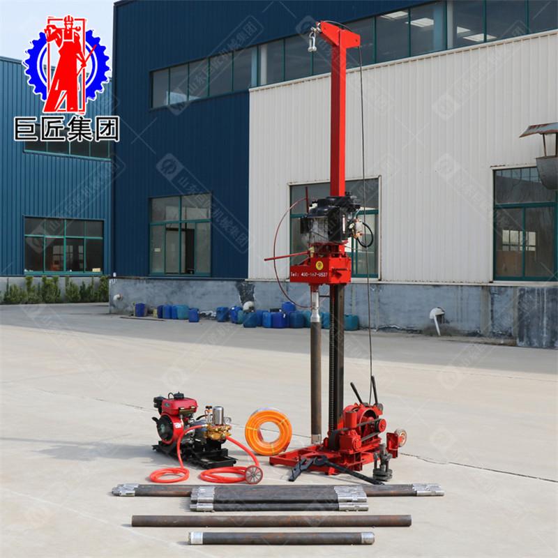 巨匠便携可拆解轻便勘探钻机QZ-3山上勘探打孔50米小型取样