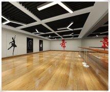 合肥舞蹈培训学校装修,舞蹈教室设计,舞蹈房装修效果图